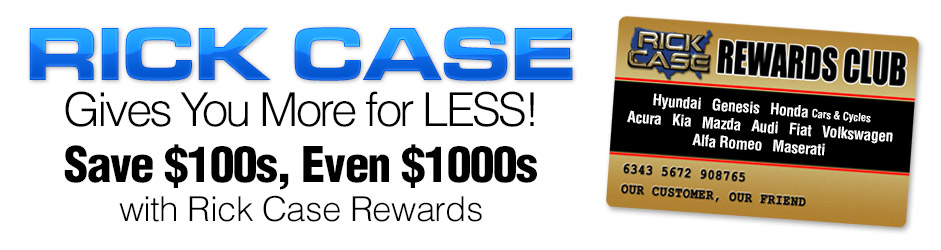 Rick Case Portal Rewards Program - Mazda rewards